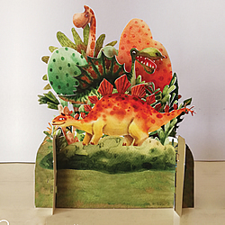 Dinosaurs : , Spectacular Greeting Cards